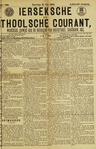 Ierseksche en Thoolsche Courant 1901-07-13