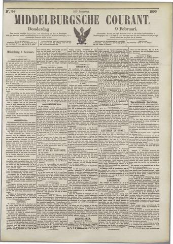 Middelburgsche Courant 1899-02-09