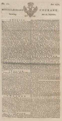 Middelburgsche Courant 1771-09-28