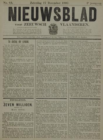 Nieuwsblad voor Zeeuwsch-Vlaanderen 1892-12-17