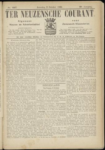 Ter Neuzensche Courant. Algemeen Nieuws- en Advertentieblad voor Zeeuwsch-Vlaanderen / Neuzensche Courant ... (idem) / (Algemeen) nieuws en advertentieblad voor Zeeuwsch-Vlaanderen 1880-10-09