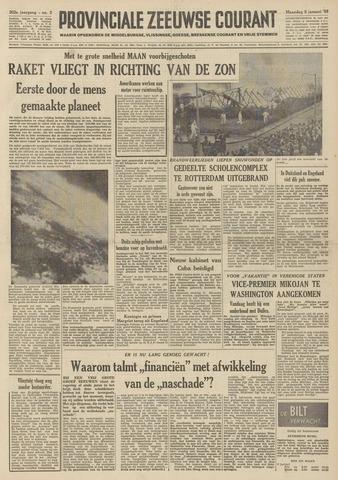 Provinciale Zeeuwse Courant 1959-01-05