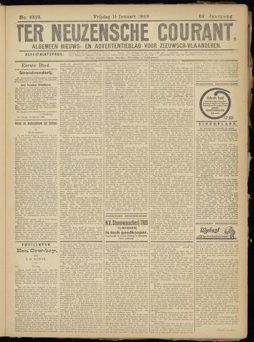Ter Neuzensche Courant. Algemeen Nieuws- en Advertentieblad voor Zeeuwsch-Vlaanderen / Neuzensche Courant ... (idem) / (Algemeen) nieuws en advertentieblad voor Zeeuwsch-Vlaanderen 1929-01-11