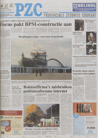 Provinciale Zeeuwse Courant 2005-11-14