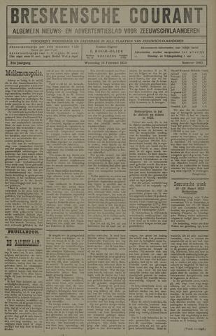 Breskensche Courant 1925-02-18