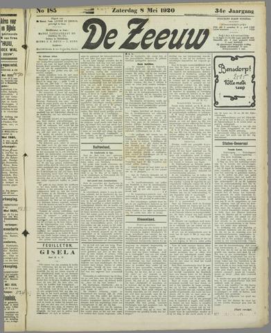 De Zeeuw. Christelijk-historisch nieuwsblad voor Zeeland 1920-05-08