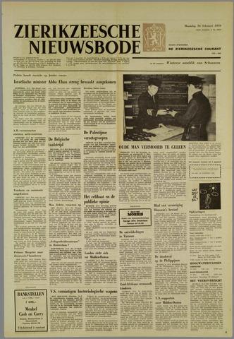 Zierikzeesche Nieuwsbode 1970-02-16