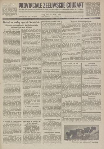 Provinciale Zeeuwse Courant 1941-06-27