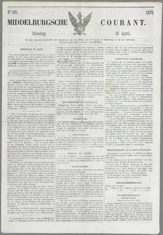 Middelburgsche Courant 1872-04-30