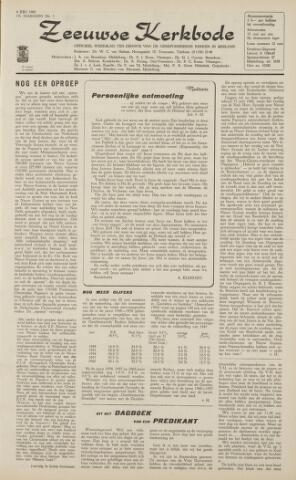 Zeeuwsche kerkbode, weekblad gewijd aan de belangen der gereformeerde kerken/ Zeeuwsch kerkblad 1962-07-06