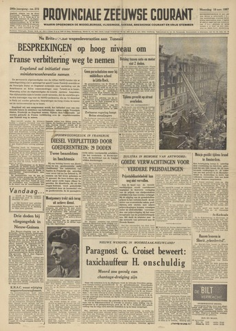 Provinciale Zeeuwse Courant 1957-11-18