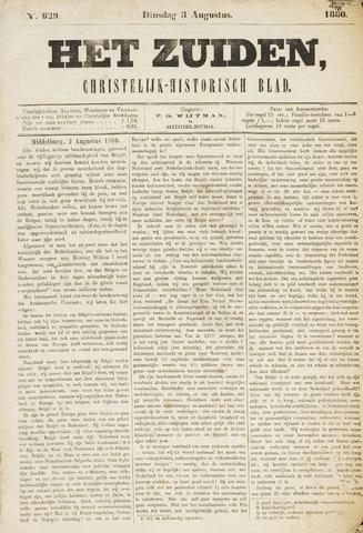 Het Zuiden, Christelijk-historisch blad 1880-08-03