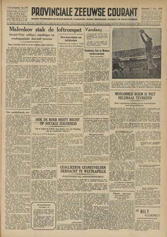 Provinciale Zeeuwse Courant 1949-11-07