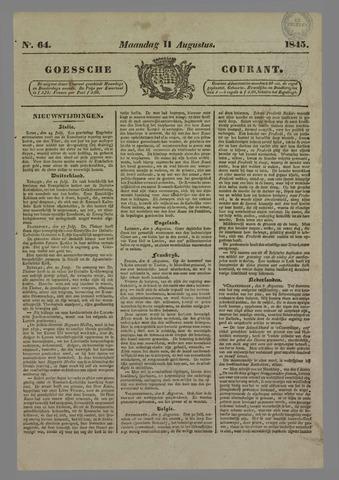 Goessche Courant 1845-08-11