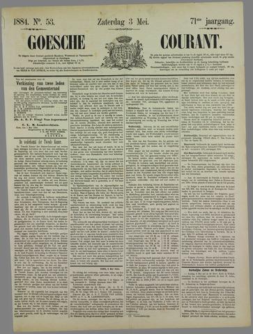 Goessche Courant 1884-05-03
