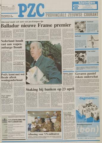 Provinciale Zeeuwse Courant 1993-03-30