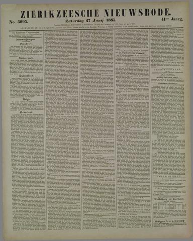 Zierikzeesche Nieuwsbode 1885-06-27