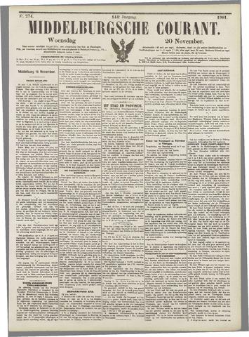 Middelburgsche Courant 1901-11-20