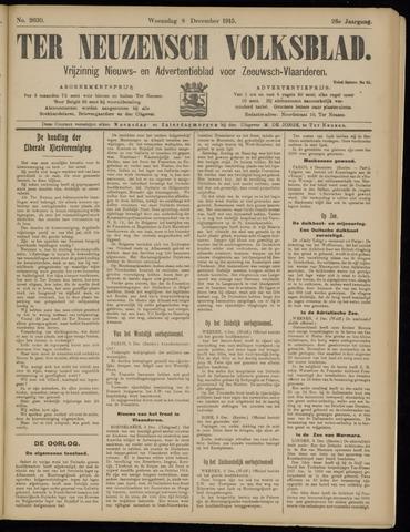 Ter Neuzensch Volksblad. Vrijzinnig nieuws- en advertentieblad voor Zeeuwsch- Vlaanderen / Zeeuwsch Nieuwsblad. Nieuws- en advertentieblad voor Zeeland 1915-12-08