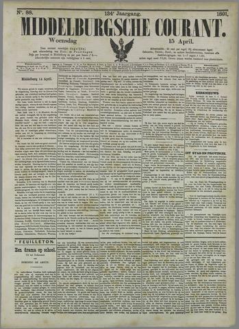 Middelburgsche Courant 1891-04-15