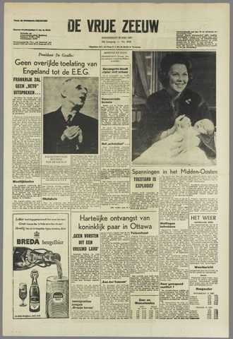 de Vrije Zeeuw 1967-05-18