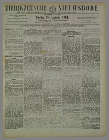 Zierikzeesche Nieuwsbode 1903-08-18