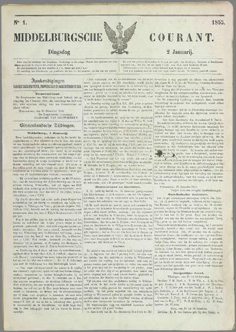 Middelburgsche Courant 1855