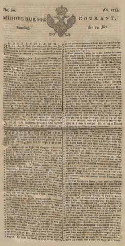 Middelburgsche Courant 1775-07-29