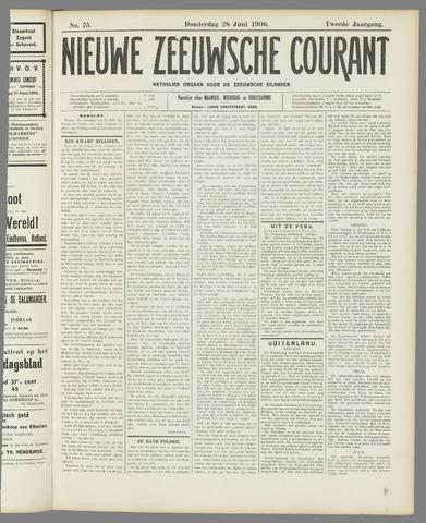 Nieuwe Zeeuwsche Courant 1906-06-28