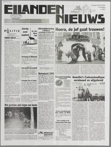 Eilanden-nieuws. Christelijk streekblad op gereformeerde grondslag 2000-10-24