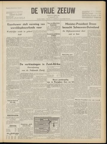 de Vrije Zeeuw 1953-04-17