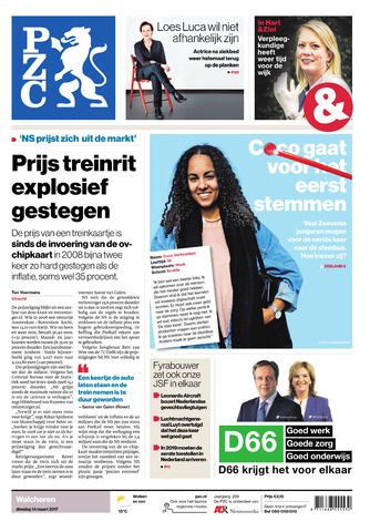 Provinciale Zeeuwse Courant 2017-03-14