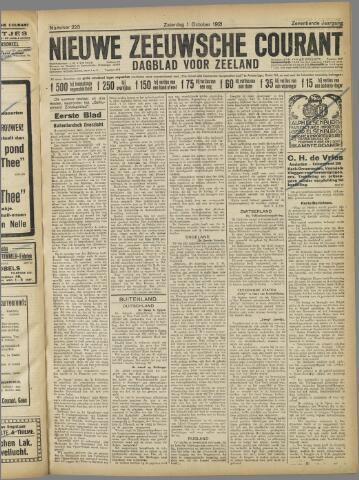 Nieuwe Zeeuwsche Courant 1921-10-01
