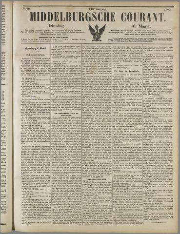 Middelburgsche Courant 1903-03-31