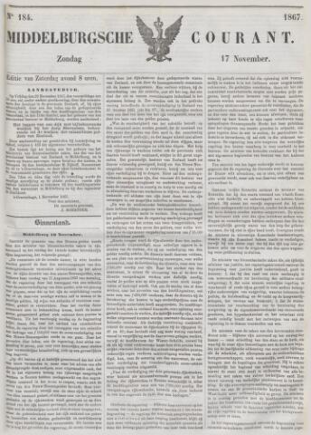 Middelburgsche Courant 1867-11-17
