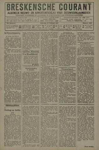 Breskensche Courant 1927-02-12