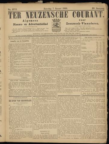 Ter Neuzensche Courant. Algemeen Nieuws- en Advertentieblad voor Zeeuwsch-Vlaanderen / Neuzensche Courant ... (idem) / (Algemeen) nieuws en advertentieblad voor Zeeuwsch-Vlaanderen 1899-01-07