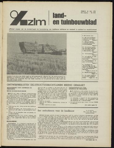 Zeeuwsch landbouwblad ... ZLM land- en tuinbouwblad 1972-07-28