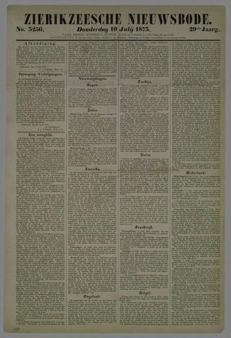 Zierikzeesche Nieuwsbode 1873-07-10