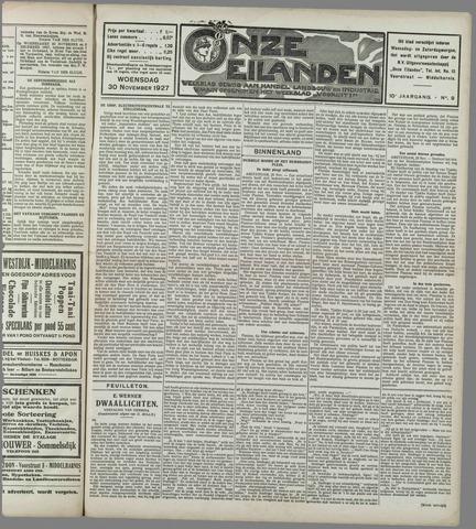 Onze Eilanden 1927-11-30
