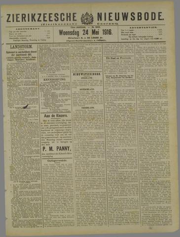 Zierikzeesche Nieuwsbode 1916-05-24