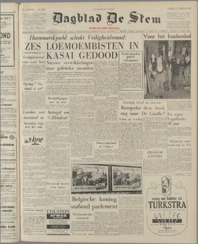 de Stem 1961-02-21