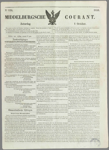 Middelburgsche Courant 1859-10-01