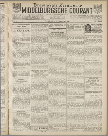 Middelburgsche Courant 1930-02-21