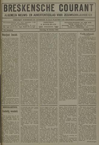 Breskensche Courant 1922-10-28
