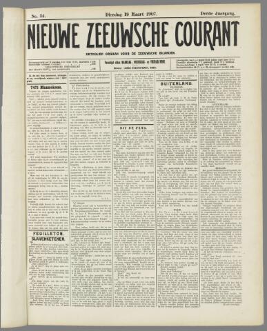 Nieuwe Zeeuwsche Courant 1907-03-19