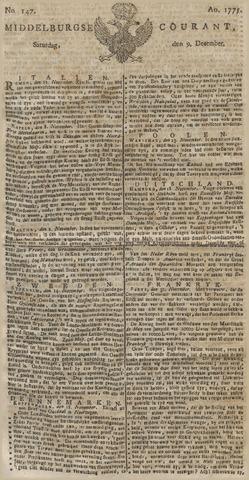 Middelburgsche Courant 1775-12-09