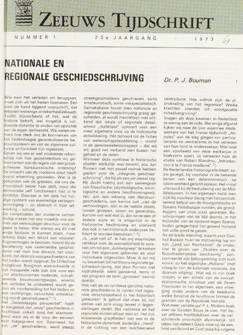 Zeeuws Tijdschrift 1973-01-01