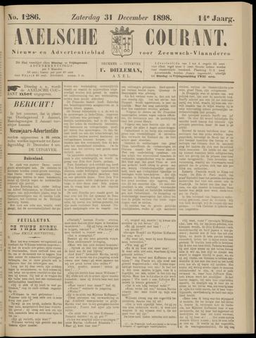 Axelsche Courant 1898-12-31
