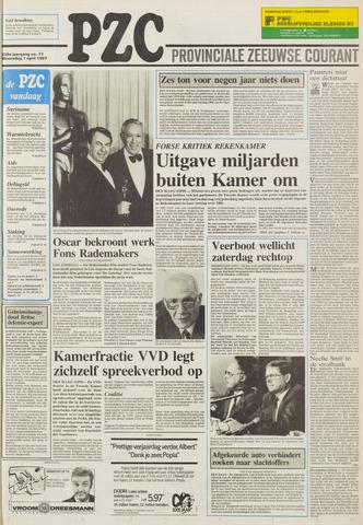 Provinciale Zeeuwse Courant 1987-04-01
